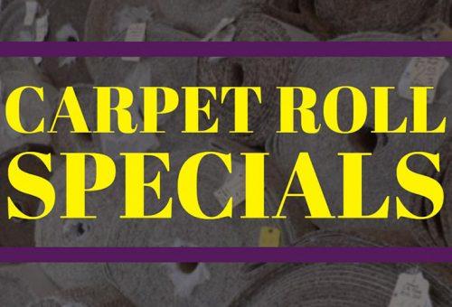 Carpet Roll Specials