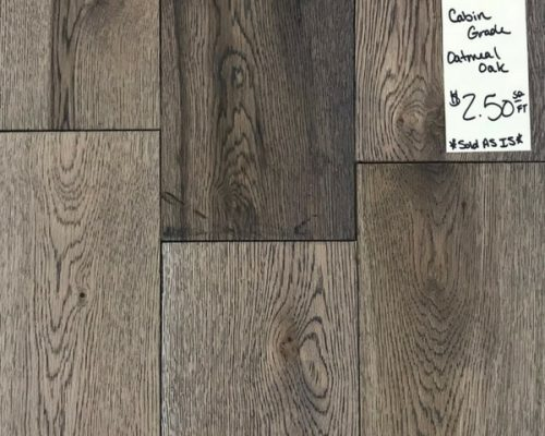 Oatmeal Oak Engineered Hardwood