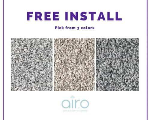 Mohawk air.o Carpet – Free Install