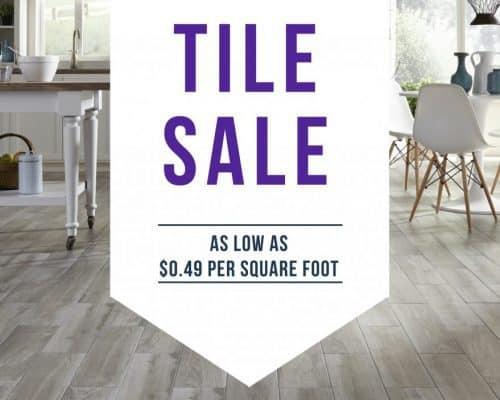 Tile Sale