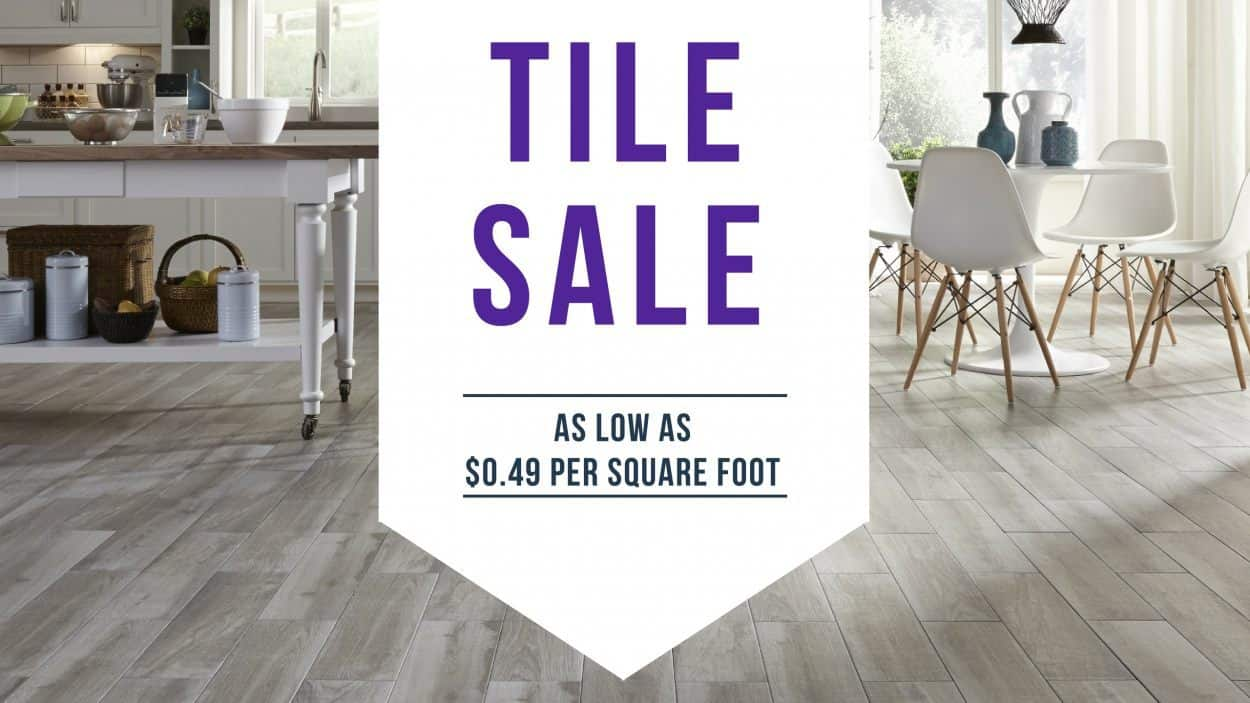 Tile Sale - Discount Dave\'s Carpet